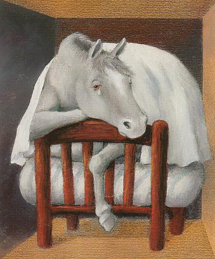 image cheval triste