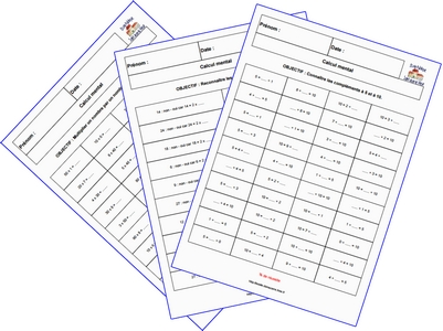 G n rateur de calcul mental - Calcul mental table de multiplication ...